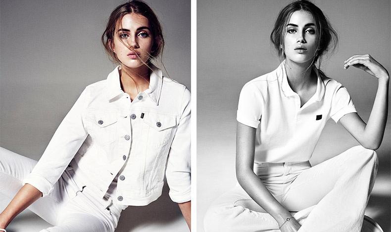 Ντυθείτε στα λευκά! Φορέστε το λευκό τζιν με ανάλογο τζιν σακάκι ή ένα λευκό τοπ και δημιουργήστε ένα δροσερό στιλ