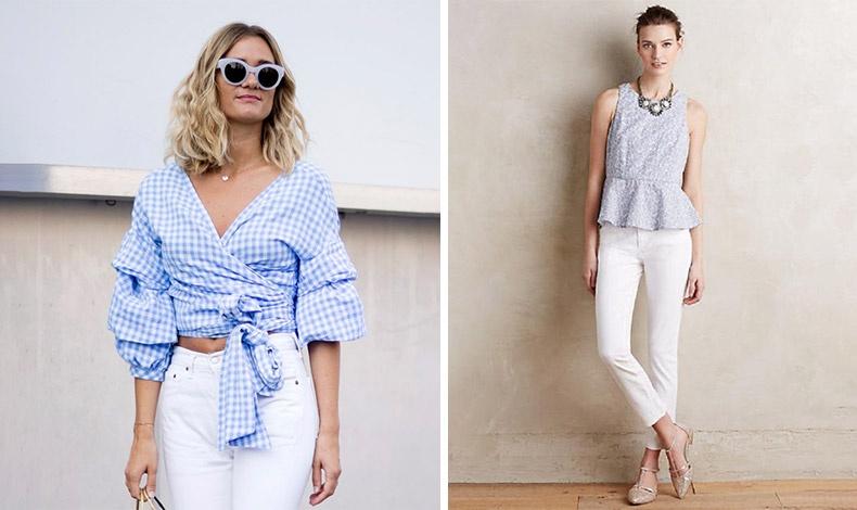 Φορέστε το λευκό τζιν με το ανάλογο τοπ ακόμη και για πιο επίσημες εμφανίσεις
