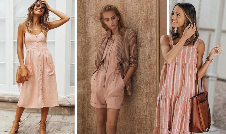 Για να είστε στο πνεύμα της μόδας επιλέξτε κάποιο κομμάτι λινό σε παστέλ αποχρώσεις και κυρίως σε ροδί ή «σκονισμένο» ροζ