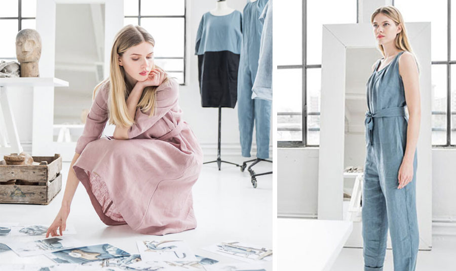 Τα λινά ρούχα είναι εξαιρετικά ανθεκτικά, όχι ιδιαίτερα απαιτητικά στη φροντίδα τους και πολύ απαλά… για το δέρμα μας