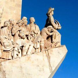 Το Mνημείο των Ταξιδευτών, ένα από τα σημεία ενδιαφέροντος στον πύργο Μπελέμ