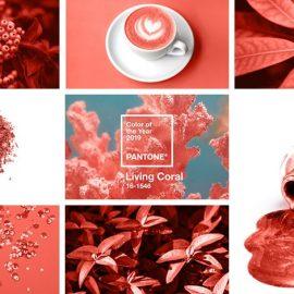 Living Coral: Το χρώμα της χρονιάς 2019