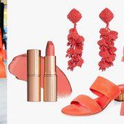 H Gigi Hadid ήδη «ντύθηκε» το χρώμα Living Color και μάλιστα σε total look // Το χρώμα της χρονιάς αποτυπώνεται στα κοσμήματα, τα καλλυντικά και τα ρούχα και αξεσουάρ