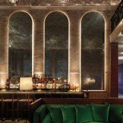 Άποψη του μπαρ στο lobby του ξενοδοχείου (Photo credit: Nikolas Koenig)