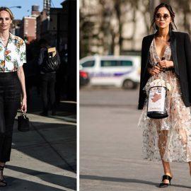 Συνδυάστε το μαύρο με ένα τοπ με τροπικά print και χρώματα ή φορέστε μαύρα παπούτσια και ένα μαύρο σακάκι πάνω από ένα αέρινο φόρεμα