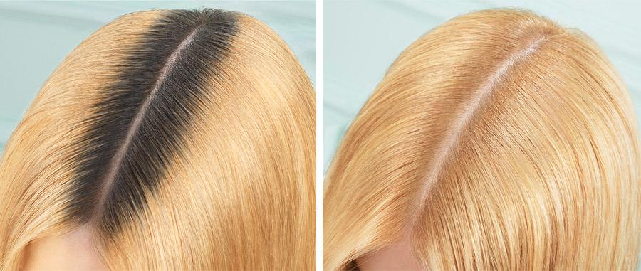 Η σειρά Magic Retouch Dark Roots Concealer, με μια μοναδική φόρμουλα χρειάζεται μόλις 3 δευτερόλεπτα για να μετατρέψει τη σκουρόχρωμη ρίζα των μαλλιών μας σε ξανθιά!