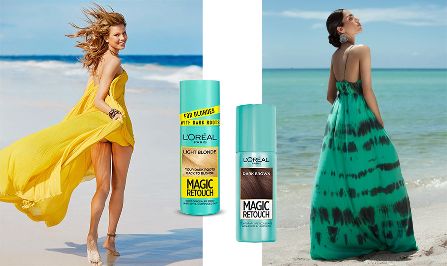 Μπορεί να έχουμε πάρει μαζί μας εκείνο το μακρύ καφτάνι ή το αποκαλυπτικό μάξι φόρεμα και τα υπέροχα σανδάλια μας. Μπορεί να έχουμε όλο το σετ με το αγαπημένο μας μακιγιάζ, αλλά υπάρχει ένα «μαγικό αξεσουάρ» για άψογο χρώμα στα μαλλιά μας! Το Magic Retouch από την L' Oréal Paris για άμεση αποκατάσταση της ρίζας!