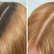 Διαλέγετε ανάμεσα από τις δύο αποχρώσεις του Magic Retouch Dark Roots Concealer – ανοιχτό ξανθό (9,3) και ξανθό (7,3), που γίνονται ένα με τη ρίζα των μαλλιών μας και καλύπτουν τέλεια όλο το εύρος των ξανθών αποχρώσεων, μέχρι το επόμενο λούσιμο!