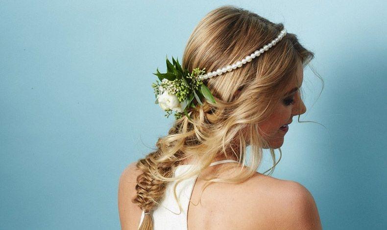 Λουλούδια στα μαλλιά!
