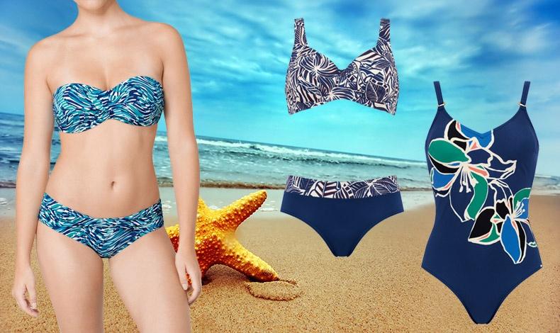 Ό,τι θυμίζει με τον έναν ή τον άλλο τρόπο καλοκαίρι: π.χ. prints που θυμίζουν θάλασσα και εξωτικά λουλούδια είναι από τις επικρατέστερες τάσεις στα μαγιό. Η Triumph σας δίνει επιλογές εξαιρετικές επιλογές!