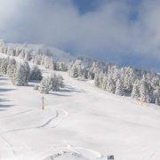 Χιονοπόλεμος στο Μαίναλο