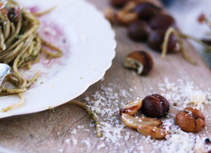 Χειμωνιάτικη ιταλική συνταγή: Ζυμαρικά με σάλτσα κάστανου