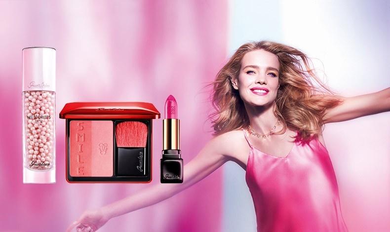 Spring Glow από τον Guerlain: Βάση λάμψης για τέλεια επιδερμίδα, M?t?orites, ρουζ με αποχρώσεις σατινέ κόκκινο και ντελικάτο ροζ και κραγιόν Νο 372 Αll about Pink.