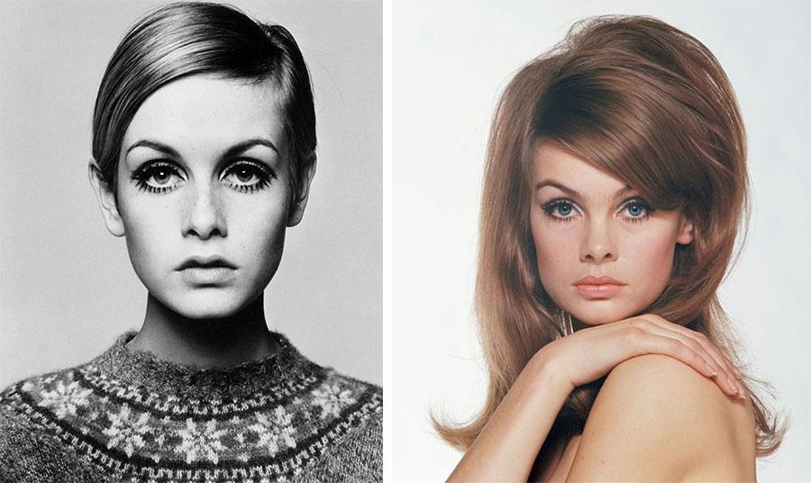 Η Τούιγκι και η Τζέιν Σρίμπτον από τη δεκαετία του '60 αποτελούν σύμβολα της εποχής