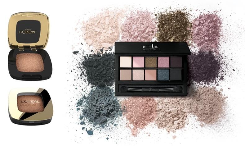 Σκιές για τα μάτια, Golden Nude, L'Oréal Paris // H κασετίνα με σκιές χρωμάτων για το καλοκαίρι, Ckone
