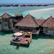 Ο παράδεισος επί Γης πανοραμική άποψη του Gili Landanfushi στις Μαδίβες
