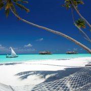 Λευκή άμμος, απέραντα τιρκουάζ νερά και μία αιώρα που σας περιμένει!