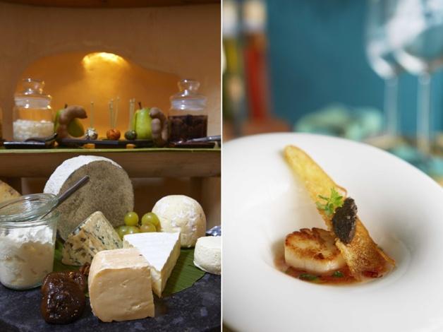 Συλλογή εκλεκτών τυριών για το πρωινό // Τα φρέσκα, τοπικά θαλασσινά σας μεταφέρουν την εξωτική αύρα των Μαλδίβων