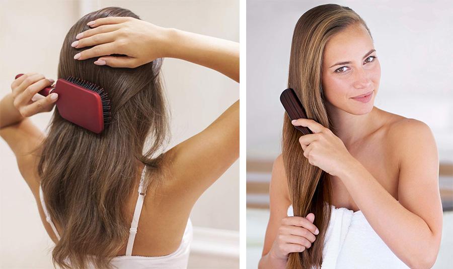 Το υπερβολικό βούρτσισμα μεταφέρει πιο γρήγορα και με μεγαλύτερη ένταση τα φυσικά έλαια σε όλα τα μαλλιά, με αποτέλεσμα να «λαδώνουν» ευκολότερα