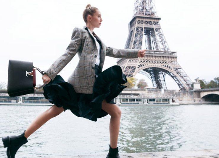 H Μαρία Ολυμπία πρωταγωνιστεί στη νέα καμπάνια Louis Vuitton