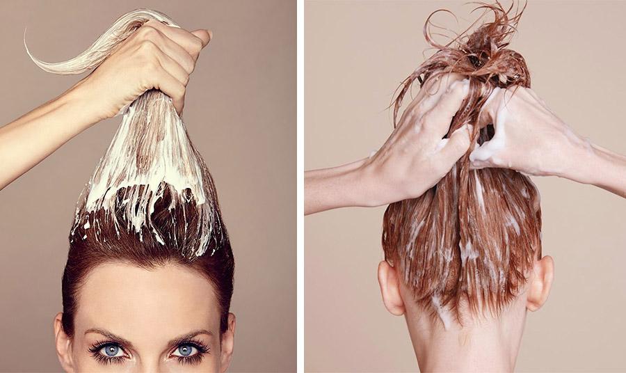 Μάσκα μαλλιών πριν ή μετά το λούσιμο;