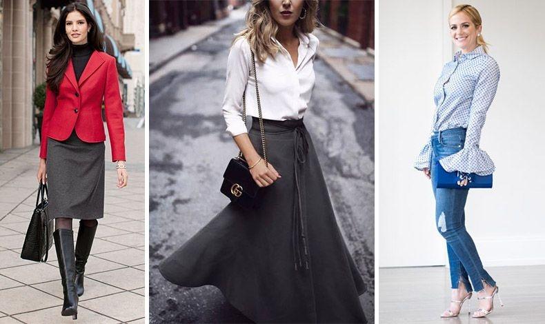 Ένα σακάκι σε δυνατό χρώμα χαρίζει στιλ στη μαύρη μας αμφίεση! // Μία μαύρη φούστα κι ένα καλοραμμένο λευκό πουκάμισο είναι πάντοτε μία κομψή επιλογή // Φορέστε το τζιν σας με ψηλοτάκουνα κι ένα ιδιαίτερο τοπ και κερδίστε τις εντυπώσεις