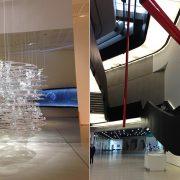 Σαν πολυέλαιος, ένα από τα εντυπωσιακά εκθέματα // Η Zaha φρόντισε για κάθε λεπτομέρεια του χώρου