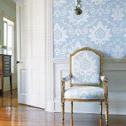 Όταν η διακόσμηση είναι πιο κλασική ή vintage, τότε το γαλάζιο είναι ιδανική επιλογή