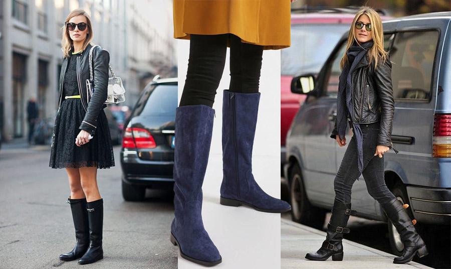 Οι ίσιες μπότες είναι πολύ πρακτικές για τις καθημερινές μας βόλτες ή σε μία εκδρομή