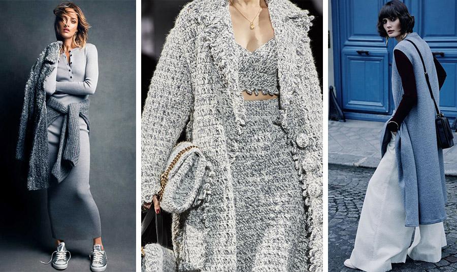 Ο φετινός χειμώνας παίζει με τις μπουκλέ υφές, χαρίζοντας ζεστασιά, απαλότητα και μία πινελιά πολυτέλειας. Φορέστε το σε απαλά γαλάζια και σπορ chic στιλ (φωτό: Patrick Demarchelier) // Σε ένα total look, όπως των Dolce&Gabbana // Σε ένα μακρύ πανωφόρι πάνω από ένα φαρδύ παντελόνι