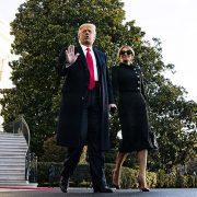 Η θεαματική έξοδος… της Μελάνια Τραμπ
