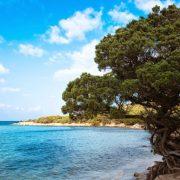 Υπάρχει άλλος τόπος που να ακουμπάει τόσο γλυκά το πράσινο μέσα στη θάλασσα και να εναλλάσσει τα τοπία και τα χρώματα τόσο αρμονικά, τόσο σοφά;