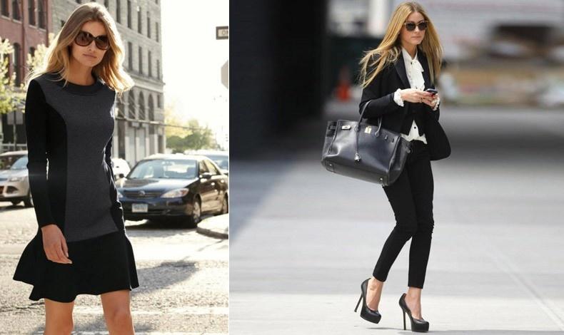 Ένα απλό μαύρο φόρεμα ή το κλασικό λευκό πουκάμισο με ένα μπλέιζερ μας κρατά στιλάτες στις πρώτες ψύχρες του φθινοπώρου