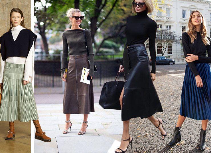 Μίντι φούστα: Το απόλυτο κομμάτι της σεζόν