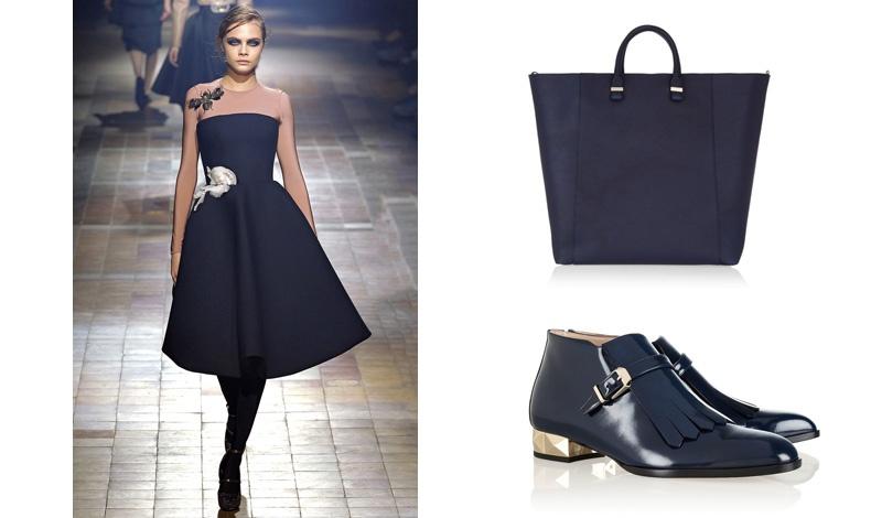 Lanvin / Τσάντα, Victoria Beckham / Παπούτσια, Valentino