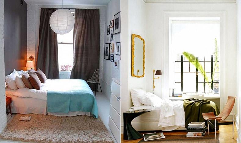 Αποφύγετε τα ογκώδη κρεβάτια και αν υπάρχει χώρος για μία καρέκλα, φροντίστε να είναι εξίσου «ανάλαφρη»