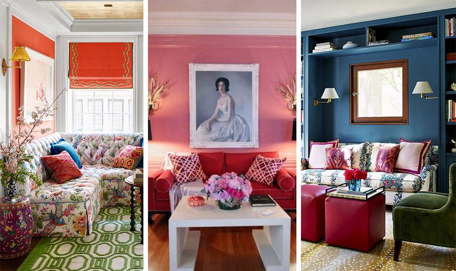Αγαπάτε τα χρώματα; Μην διστάσετε να τα χρησιμοποιήσετε και σε μικρούς χώρους! Μην φοβηθείτε ακόμη και τα πολύχρωμα, έντονα αντικείμενα!