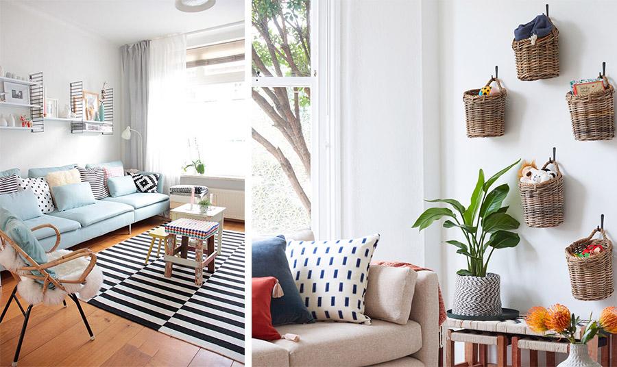 Παστέλ με λευκό και πινελιές μαύρου για έναν χώρο που δείχνει μεγαλύτερος και σίγουρα πολύ κομψός! // Συνδυάστε λευκούς τοίχους με παστέλ αποχρώσεις στην υπόλοιπη διακόσμηση