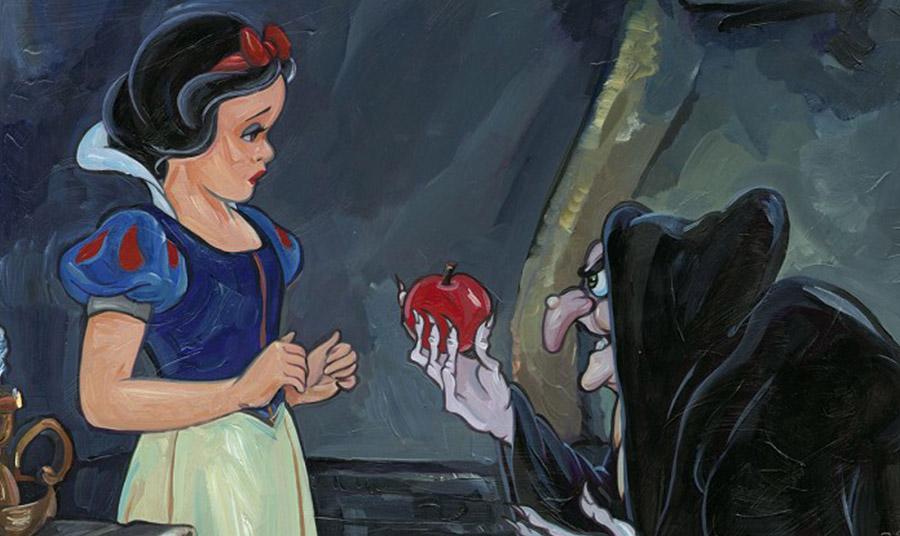 """Το μήλο στη """"Χιονάτη"""" είναι κάτι κοινό ανάμεσα στη μητριά και την κόρη, και συμβολίζει τις ώριμες σεξουαλικές επιθυμίες"""