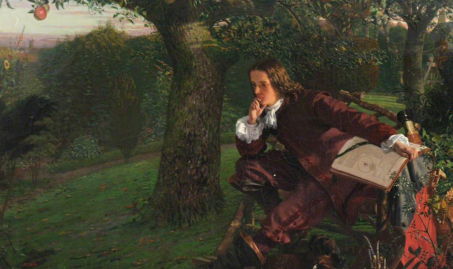 Ο Ισάακ Νεύτων «οφείλει» την ανακάλυψη του νόμου της βαρύτητας στην  πτώση… ενός μήλου!