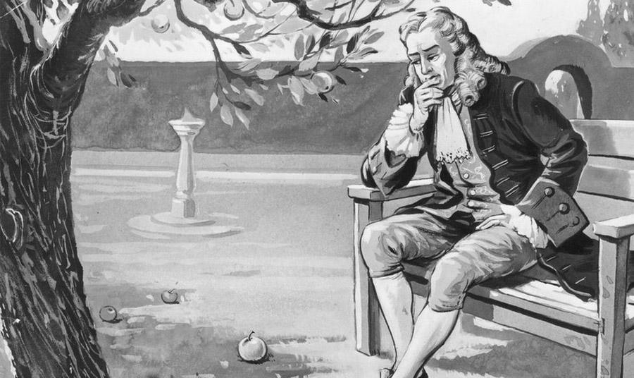 Ένας από τους σπουδαιότερους φυσικούς, ο Άγγλος Ισαάκ Νεύτων και η πιο διάσημη… μηλιά στον κόσμο!