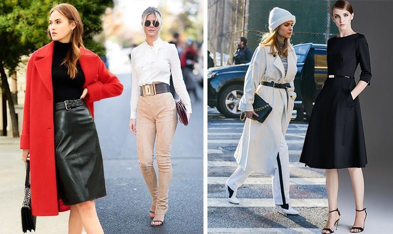 Για να προβάλλετε την υπέροχη μέση σας, φορέστε ένα φόρεμα, φούστα ή παντελόνι που την τονίζει ή μία σφιχτά δεμένη ζώνη ακόμη και πάνω από το παλτό