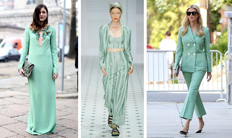 Το νέο χρώμα της μόδας σε ένα μάξι βραδινό φόρεμα, σε μία ανάλαφρη εμφάνιση για τις διακοπές ή σε ένα κοστούμι με ψηλοτάκουνα παπούτσια όπως το έχει υιοθετήσει ήδη η Ιβάνκα Τραμπ!