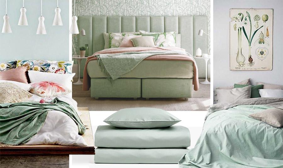 Υιοθετήστε την νέα απόχρωση στην κρεβατοκάμαρά σας. Αν όχι στους τοίχους ή στο κρεβάτι, τότε στα σεντόνια, στις κουβέρτες ή στο κάλυμμα. Συνδυασμός με λευκό, απαλό γκρι ή παστέλ ροζ κάνουν το τέλειο «πάντρεμα»