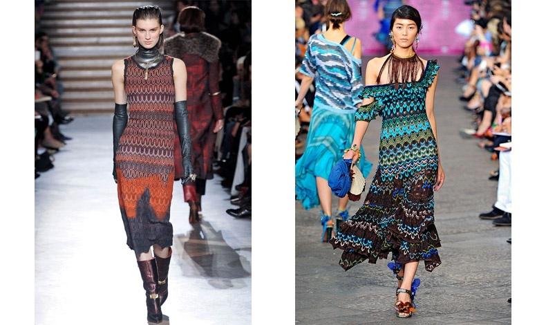 Περίτεχνα ζιγκ-ζαγκ για το φθινόπωρο/χειμώνας 2012-13 // Μια πιο έθνικ εκδοχή τη σεζόν άνοιξη/καλοκαίρι 2012