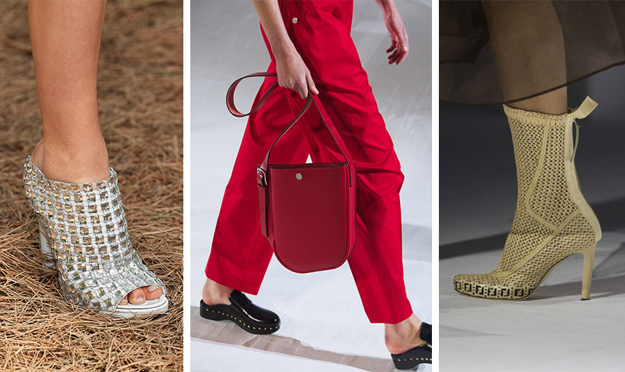 Αχ αυτά τα παπούτσια! Η φετινή μόδα με τα πλεκτά σίγουρα τραβά την προσοχή, το ίδιο και τα τσόκαρα, αλλά δεν θα διαρκέσει πολύ! Από τις νέες συλλογές άνοιξη-καλοκαίρι 2021: Fendi // Hermes // Burberry
