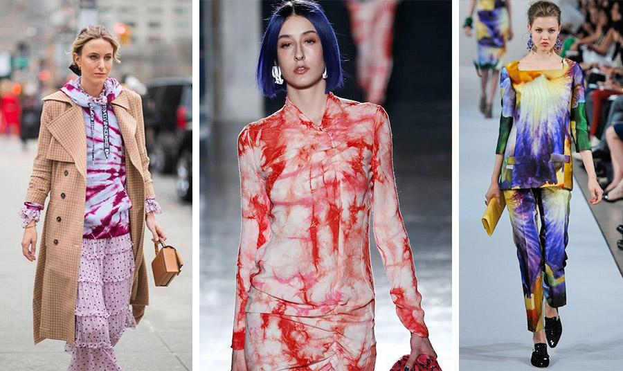 Τα ρούχα Tie dye είναι χαρούμενα και με ζωηρά χρώματα, αλλά χρειάζεται επιδεξιότητα για να δείχνουν όμορφα πάνω μας. Παρά το γεγονός ότι η τάση συνεχίζεται, δεν είναι απαραίτητο να την υιοθετήσετε