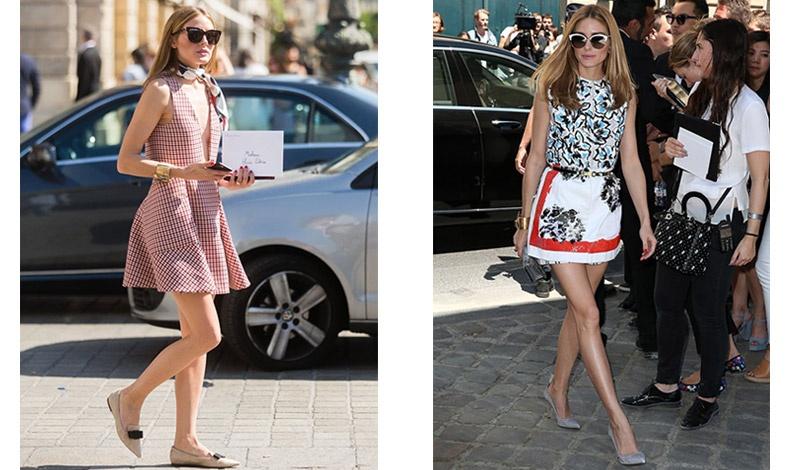 Τα ψηλά τακούνια-στιλέτο μπορούν να αντικατασταθούν με πλατφόρμες ή χοντρά τακούνια, αν δεν θέλετε να φοράτε ίσια