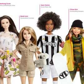 Διαφορετικά επαγγέλματα, διαφορετικές φυλές, διαφορετικές κουλτούρες. Οι γυναίκες-πρότυπα που πρωταγωνιστούν στην εκστρατεία της Barbie