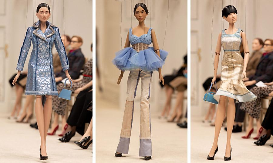 Τα ρούχα, τα αξεσουάρ και κάθε λεπτομέρεια έπρεπε να έρθει από την ανθρώπινη κλίμακα σε αυτή που να ταιριάζει στα σώματα των μαριονετών
